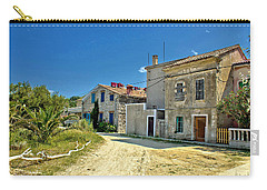 Old Streets Of Susak Island Carry-all Pouch