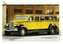 Old Time Yellowstone Bus Carry-all Pouch