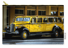 Old Time Yellowstone Bus II Carry-all Pouch