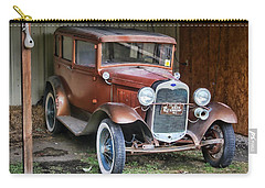 Carry-all Pouch featuring the photograph Old Timer II by Victor Montgomery