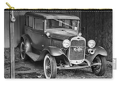 Carry-all Pouch featuring the photograph Old Timer by Victor Montgomery