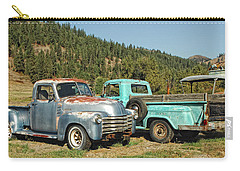 Old Timers Carry-all Pouch by Donna Blackhall