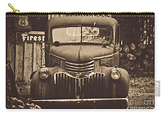Carry-all Pouch featuring the photograph Old Times by Alana Ranney