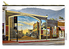 Old Town Mural Carry-all Pouch