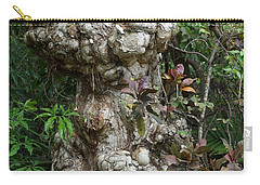 Carry-all Pouch featuring the mixed media Old Tree by Rafael Salazar
