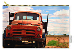 Carry-all Pouch featuring the photograph Old Truck by Matt Harang