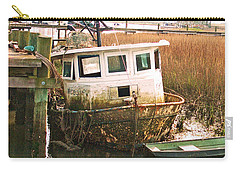 Old Tugboat By Jan Marvin Carry-all Pouch