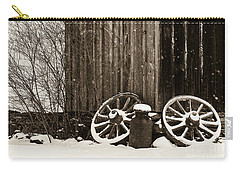 Old Wagon Wheels Carry-all Pouch