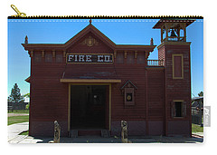 Old West Fire Station Carry-all Pouch