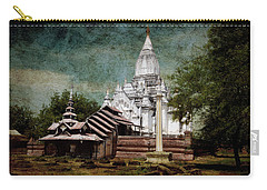 Old Whitewashed Lemyethna Temple Carry-all Pouch