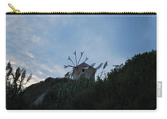 Old Wind Mill 1830 Carry-all Pouch by George Katechis