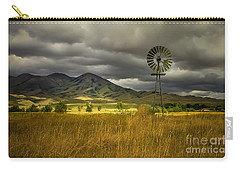 Old Windmill Carry-all Pouch by Robert Bales