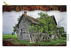 Old Wood House Carry-all Pouch by Marvin Blaine
