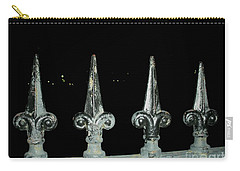 Carry-all Pouch featuring the photograph Olde Fence by Joseph Baril