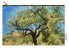 Olive Tree On Van Gogh Manner Carry-all Pouch