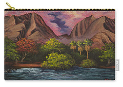 Olowalu Valley Carry-all Pouch