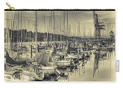 Carry-all Pouch featuring the photograph Olympia Marina 3 by Jean OKeeffe Macro Abundance Art