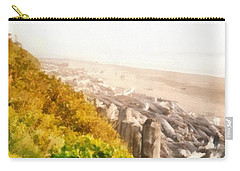Olympic Peninsula Driftwood Carry-all Pouch by Michelle Calkins