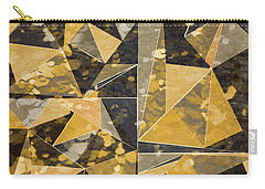 Omg Modern Triangles II Carry-all Pouch