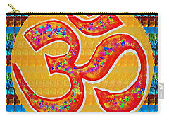 Ommantra Om Mantra Chant Yoga Meditation Spiritual Religion Sound  Navinjoshi  Rights Managed Images Carry-all Pouch