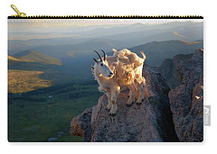 Carry-all Pouch featuring the photograph On A Clear Day by Jim Garrison