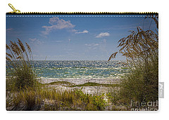 On A Clear Day Carry-all Pouch by Marvin Spates