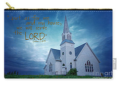 On Hallowed Ground - Bible Verse Carry-all Pouch