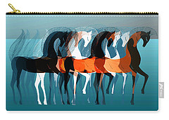 On Parade Carry-all Pouch by Stephanie Grant
