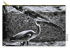 Carry-all Pouch featuring the photograph On Patrol by Robert McCubbin