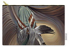 On Sacred Ground Series I Carry-all Pouch