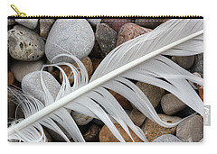 On The Beach 11 Carry-all Pouch by Mary Bedy