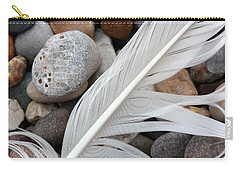 On The Beach 4 Carry-all Pouch by Mary Bedy