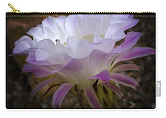 Carry-all Pouch featuring the photograph On The Edge by Lucinda Walter