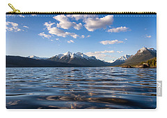 On The Lake Carry-all Pouch by Aaron Aldrich