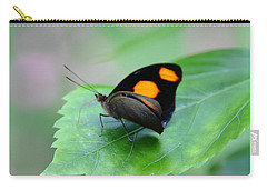 On The Leaf Carry-all Pouch by Denyse Duhaime