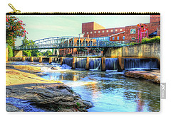 On The Reedy River In Greenville Carry-all Pouch