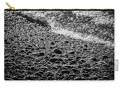 On The Rocks At French Beach Carry-all Pouch by Roxy Hurtubise