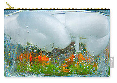 On The Rocks Carry-all Pouch by Pamela Clements