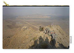 On Top Of A Mountain Carry-all Pouch