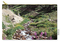 On Top Of The Continental Divide In The Rocky Mountains Carry-all Pouch
