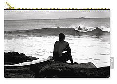 Carry-all Pouch featuring the photograph Once By The Ocean... by Lehua Pekelo-Stearns