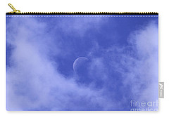 Carry-all Pouch featuring the photograph Once In A Blue Moon by Judy Whitton