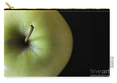 One Apple - Still Life Carry-all Pouch by Wendy Wilton