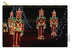 One Crooked Toy Soldier Carry-all Pouch by Rodney Lee Williams