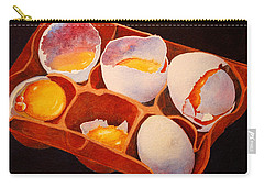 Carry-all Pouch featuring the painting One Good Egg by Roger Rockefeller