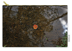 Carry-all Pouch featuring the photograph One Leaf by Jeremy Rhoades