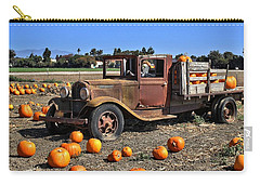 Carry-all Pouch featuring the photograph One More Pumpkin by Michael Gordon