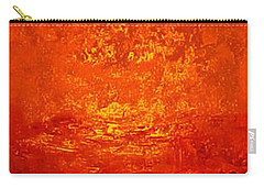 One Night In Old Shanghai By Rjfxx.-original Minimalist Abstract Art Painting Carry-all Pouch