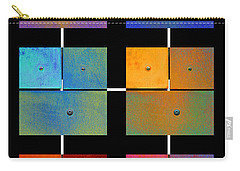 One To Eighteen - Colorful Rust - All Colors Carry-all Pouch