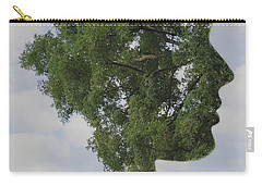 One With Nature Carry-all Pouch by Terry DeLuco